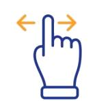 swipe icon